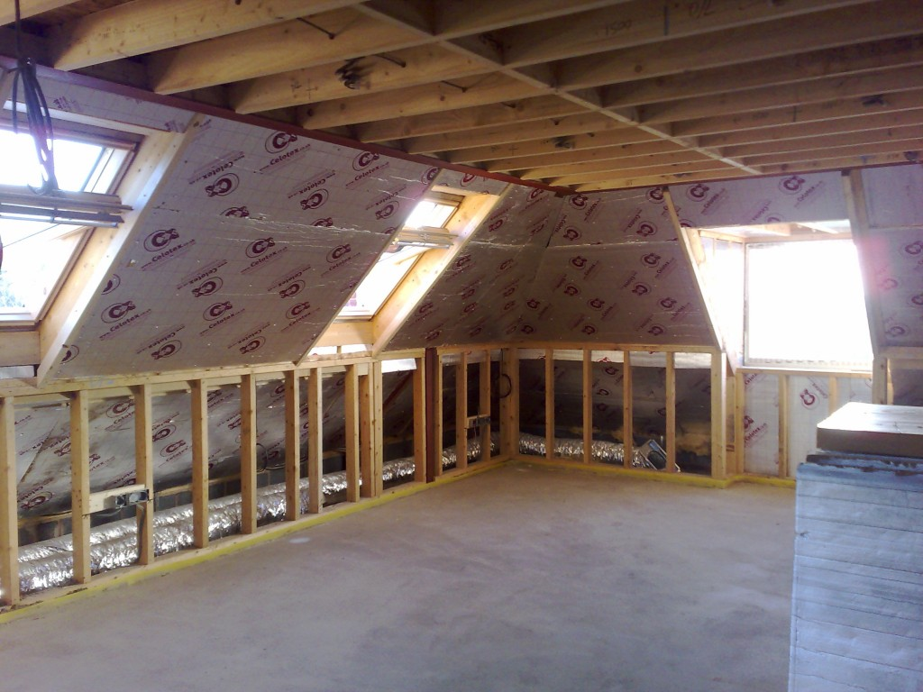 Loft garage conversions interprove for How much to build a garage with loft